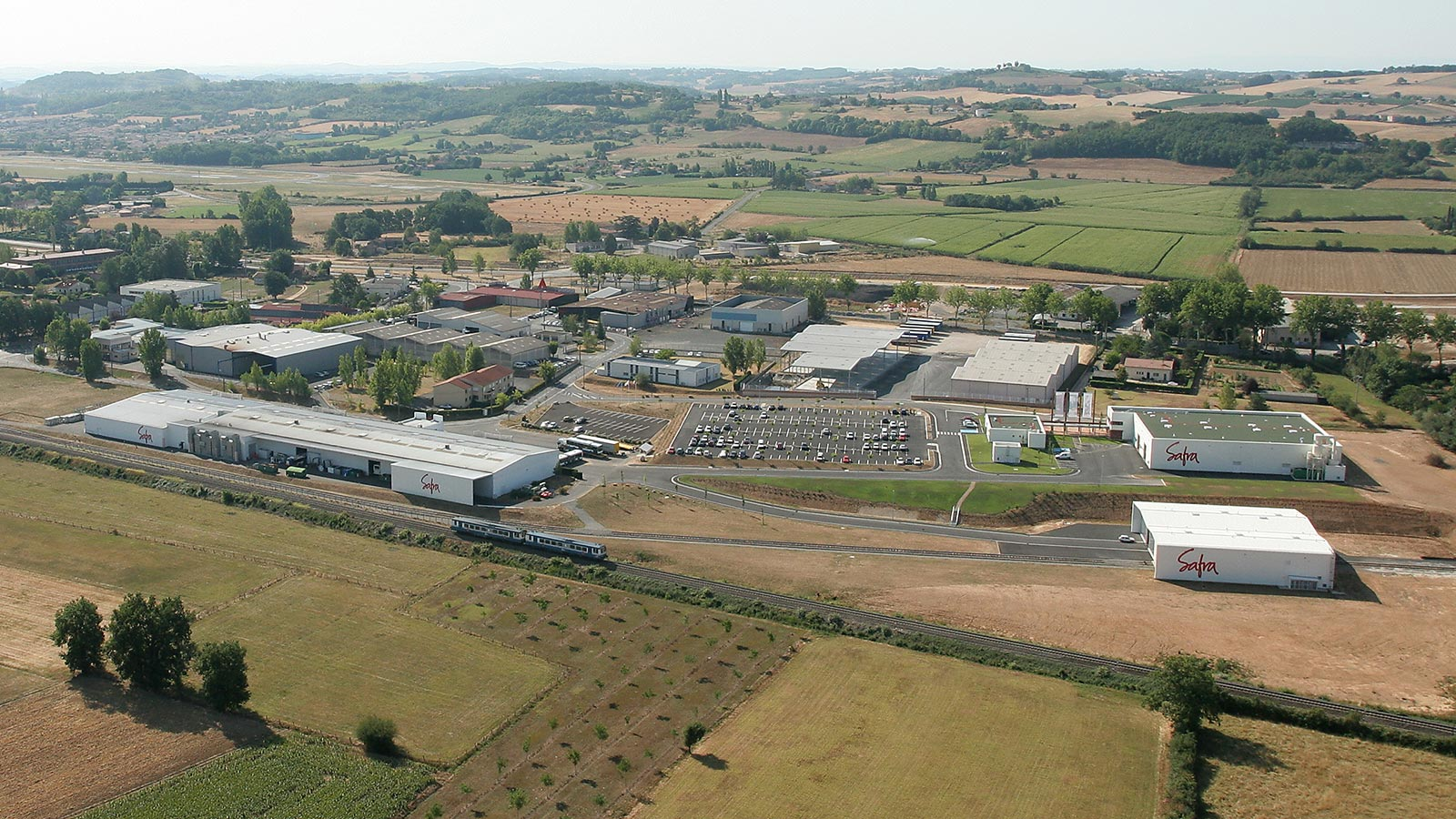 Safra new industrial site in Tarn